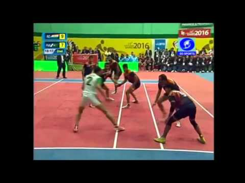 Men's Kabaddi Final League Match(India Vs Pakistan): 12th South Asian Games, 2016