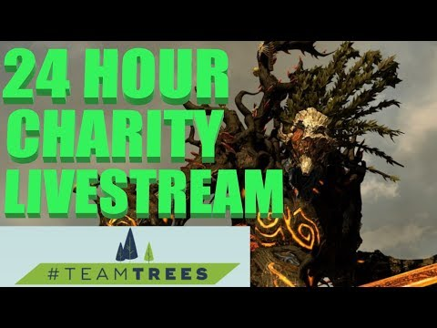 24 Hour Charity Team Trees Livestream - Durthu Tree Only Campaign Part 1