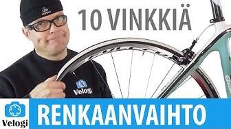 Miten pyörän rengas vaihdetaan vaivattomasti | 10 vinkkiä