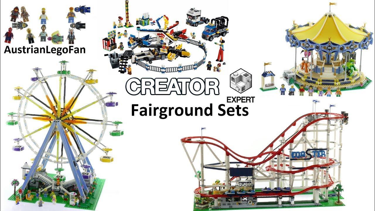 all lego creator expert fairground sets 2014 2018 lego. Black Bedroom Furniture Sets. Home Design Ideas
