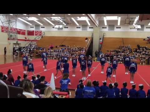 Our Lady of the Assumption Spellman cheerleading competition 2/1/14