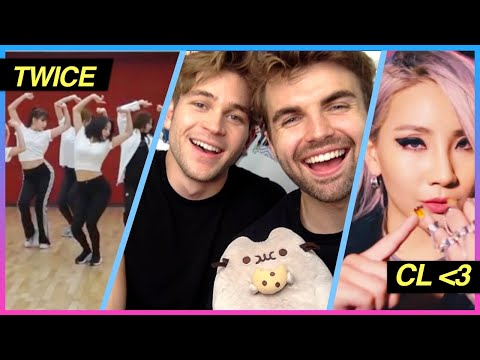 Reacting to TWICE Billie Eilish CL Jessi Chen and LOTS more K-POP REACTION PARTY