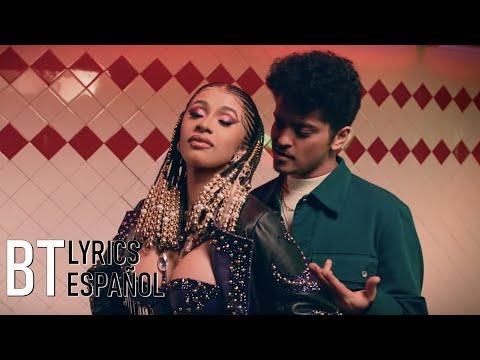 Cardi B & Bruno Mars - Please Me (Lyrics + Español) Video Official