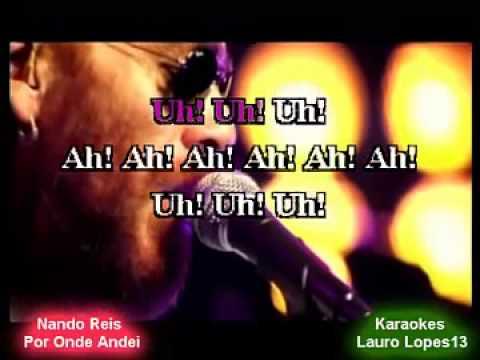 Video Karaoke Nando Reis Por Onde Andei