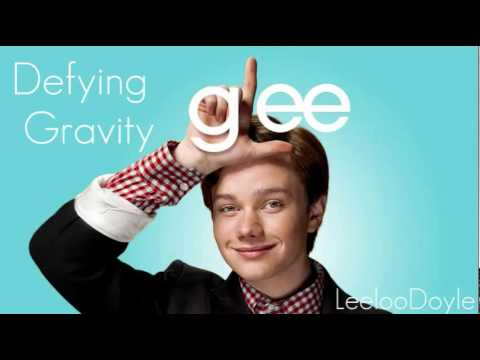 Glee Cast  Defying Gravity Chris Colfer Kurt Solo Version HQflv