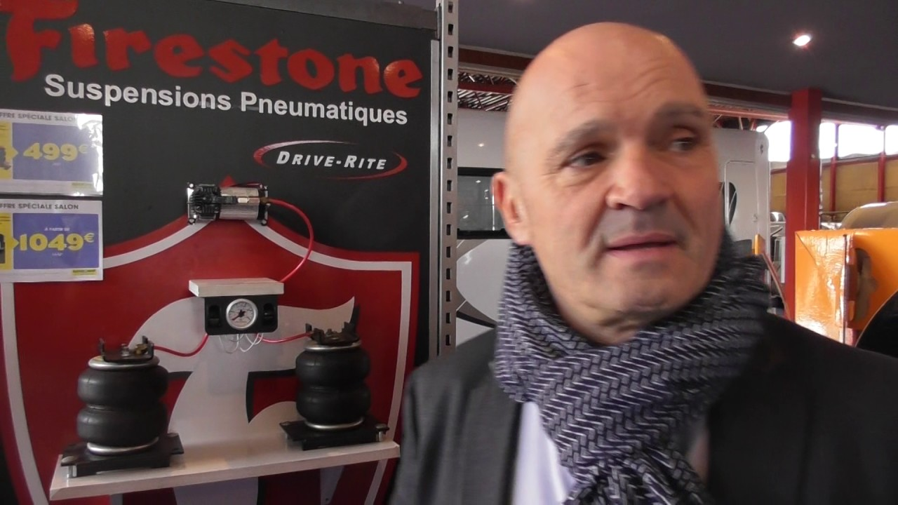 Driverite De Firestone Sur Le Salon Du Camping Car De Narbonne Youtube