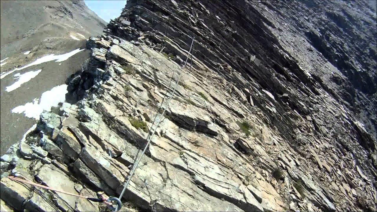 Klettersteig Grindelwald : Ferrata schwarzhorn first grindelwald youtube