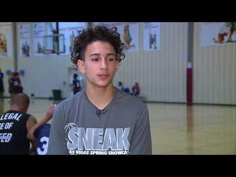 14 year old basketball wonder kid gets scholarship to UNLV