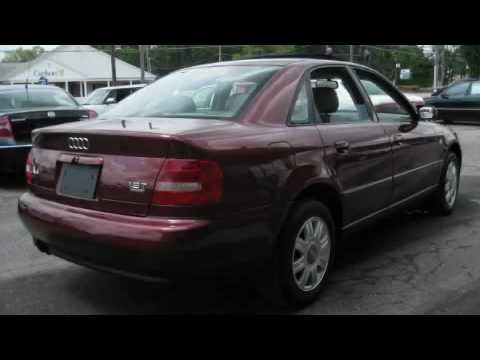 Preowned 2000 Audi A4 Brunswick OH 44212 - YouTube