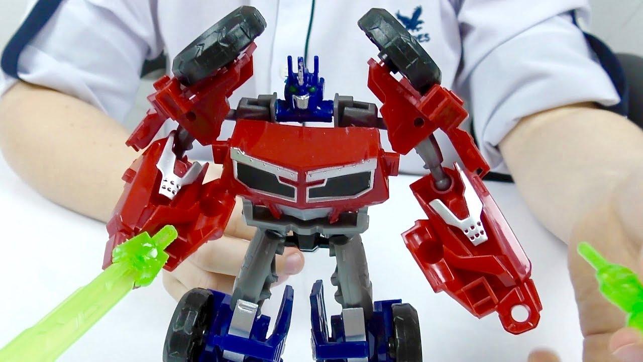 Трансформеры Автоботы ОПТИМУС Прайм Сломался Игрушки из мультика Машинки для мальчиков Transformers