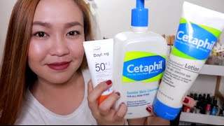 My Basic Skincare Routine with Cetaphil!