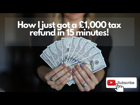 Tutorial - How To Get A Tax Refund As A UK Employee - HMRC Paid Me Over £1000