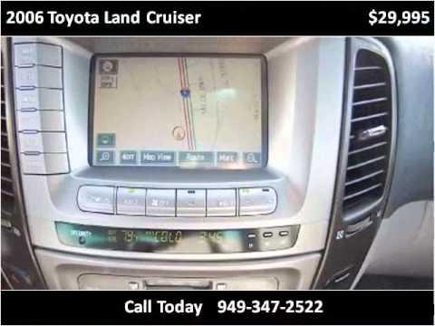 2006 Toyota Land Cruiser Used Cars San Juan Capist...