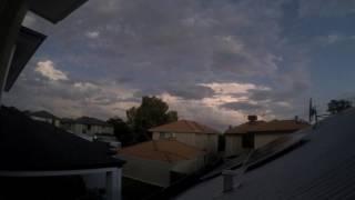 Copy of 1st March 2017 - Perth Storm Cloud Timelapse 4K capture