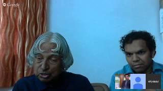Hangout with Dr. APJ Abdul Kalam & Srijan Pal Singh