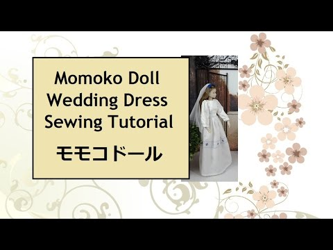 Free Momoko Sewing Pattern and Tutorial: Wedding Dress - YouTube