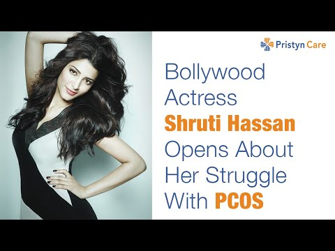 Bollywood actress Shruti Hassan shares her struggle with PCOS