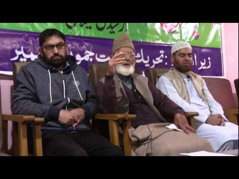 Kashmir: Syed Ali Shah Geelani's Book 'Rooh-e-Deen Ka Shanasa' released