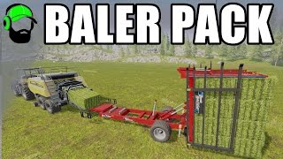 Farming Simulator 17 Mod - Baler Pack