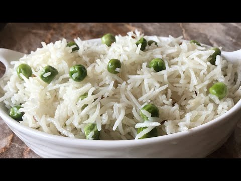 Matar pulao recipe peas pulao recipe easy lunch box recipes