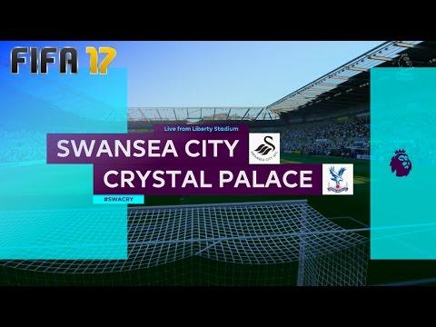 FIFA 17 - Swansea City vs. Crystal Palace @ Liberty Stadium