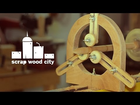 DIY spindle steady rest for the wood lathe