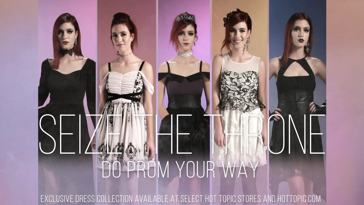 Hot Topic Prom Collection Youtube