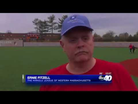 Miracle League Opening Day at Springfield College on Western Mass News