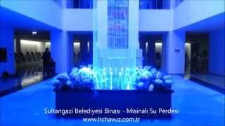 HC Havuz - Sultangazi Belediyesi Binası Misinalı Su Perdesi