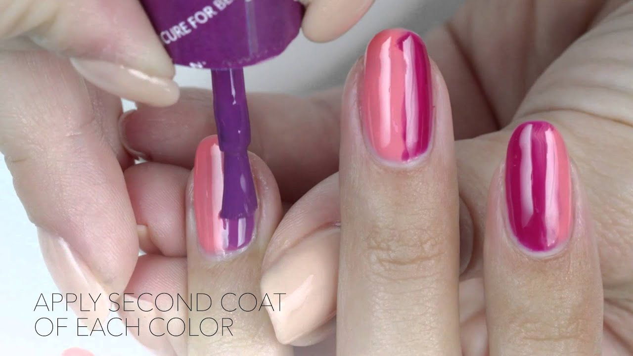 OPI GelColor Tutorial New Orleans Collection Lady Marmalade - YouTube