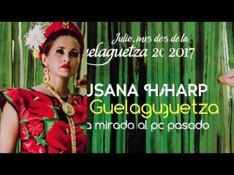 """SUSANA HARP INVITA A """" MI GUELAGUETZA"""" POR CORTV"""