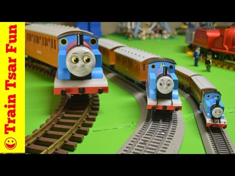 Thomas the Tank Engine Annie & Clarabel G, HO, O Scale Trains!