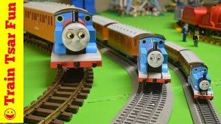 Thomas the Tank Engine Annie & Clarabel G, HO, O Scale Trains!