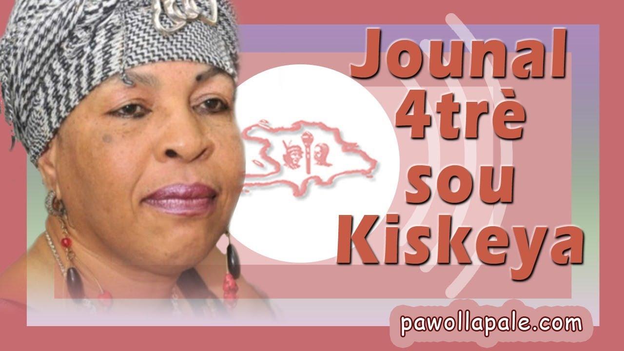 """JOUNAL 4trè / JOVENEL di OPOZISYON """"WA YAN"""" - Nouvèl Total sou KISKEYA ak Liliane Pierre-Paul"""