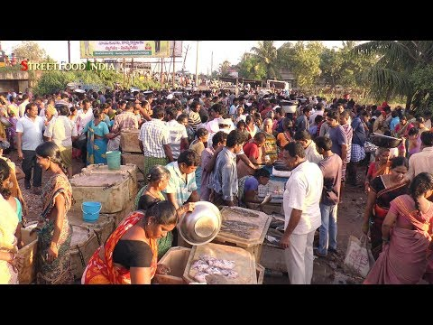Early Morning Fish Market - Matlapalem near Kakinada Andhra Pradesh INDIA