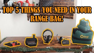 Top 5 Things you NEED In Your Range Bag!
