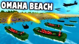 NEW D-DAY Omaha Beach LANDING Battle! (...