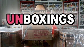Funko Hot Topic Mystery Horror Box Unboxing +10