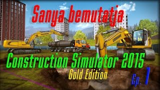Construction Simulator 2015 [1. rész] A tutorial meló