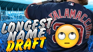 LONGEST NAME DRAFT! MLB The Show 16 | Battle Royale