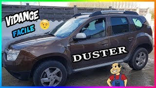 Dacia Duster - Vidange et Changement de tous  Filtres 👉facile 😉