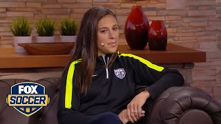 Carli Lloyd: 'We're peaking, we've got momentum going and confidence'