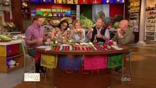 The Chew Celebrates Cinco De Mayo With Sprinkles Margarita Cupcakes!