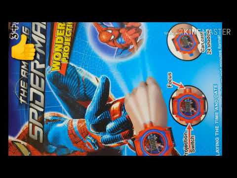 Spiderman Watch | 3d Watch | 3d Model | Projector Watch |#spiderman3dwatch