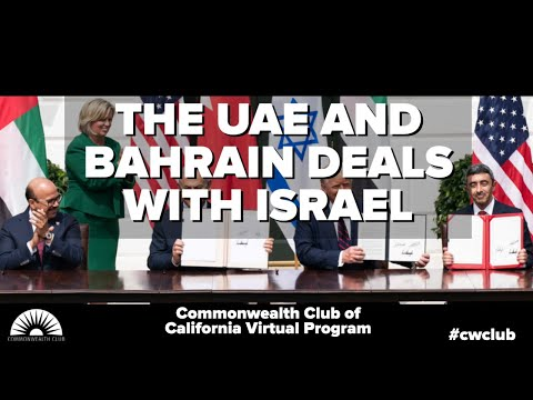 The UAE And Bahrain Deals With Israel