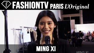 Ming Xi: My Look Today | Model Talk | FashionTV