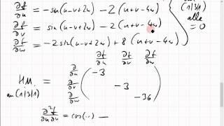 22C.4 lokales Extremum einer Funktion dreier Veränderlicher