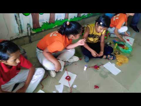 Rakhi making competition in VDI 15 August 2019