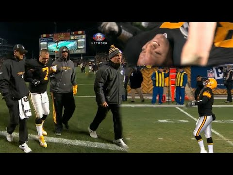 Ben Roethlisberger Plays on One Leg Vs Browns