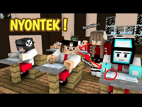 Image of UJIAN !! - Sketsa Minecraft 4 Brother ft. Anited & Muthia Savira | Minecraft Animation Indonesia